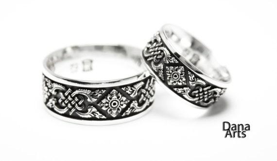 Matching wedding bands - Celtic Knot