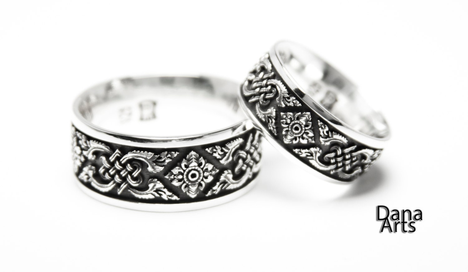 matching wedding bands celtic knot irish wedding ring Matching wedding bands Celtic Knot zoom