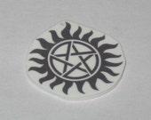 Supernatural Anti-possession Pentagram Keychain/Lanyard/Phone Charm