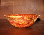 Box Elder Burl Bowl.... soft and worn.