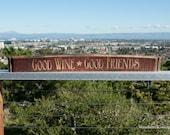 Wine Barrel Stave Sign (Set A)
