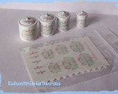 Kitchen Decal Set for your dollhouse