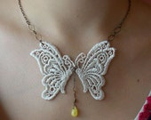 Butterfly Lace Necklaces