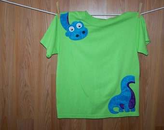 Dino Over Your Shoulder Tee Shirt  size Youth Large