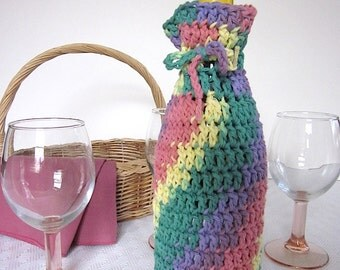 Wine Bottle Gift Bag, Cozy, Cover, Sleeve