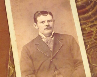 Antique CDV Gentleman from the 1870's