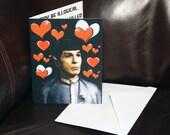Spock Fan - Vulcan Anniversary - Fun Star Trek Fan Friendship Card