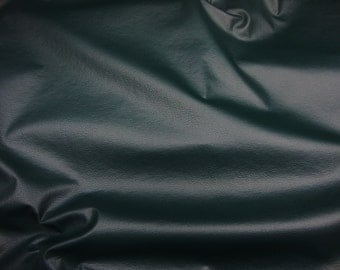 """Emerald Champion Leather Faux Vinyl upholstery Leather furniture fabric by the yard 54"""" Wide"""