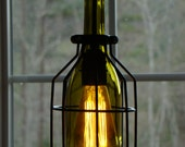 Kelly's Two wine bottle light