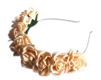 Lotta Rosie Headband - Peachy Keen