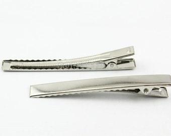 25Pcs 77mm Hair Clips Girls Hair Bows (HC04)