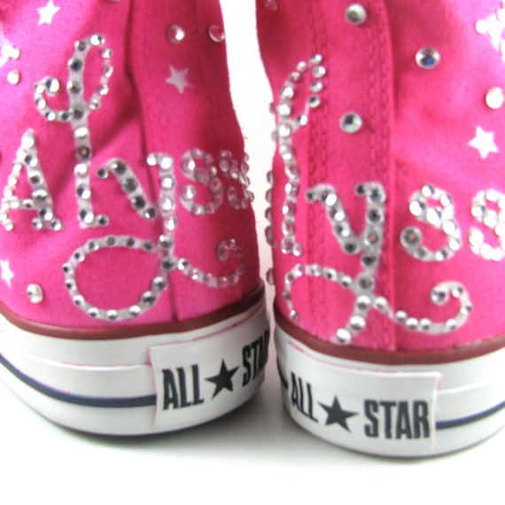 4c43b1d913a5 High-Top Chucks Quinceanera converse - Custom Airbrushed  ConverseQuinceanera Shoes Converse