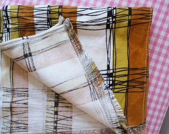 Vintage 1950s Cotton Fabric