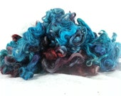 hand dyed Gotland Wool Locks Fleece - 4 ounces