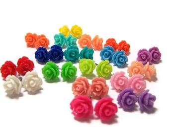 Icing Rose Earrings