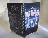 NSYNC Live From Madison Square Garden VHS notebook
