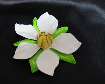 Vintage Sarah Coventry Magnolia Blossom Brooch