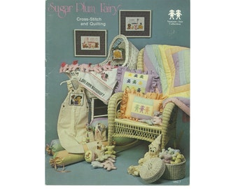 Sugar Plum Fairy Cross Stitch and Quilting