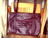 OXBOW    ///    Oxblood Leather Bag