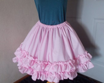 Custom Lolita Dress Skirt Cosplay Lolita Pink Cupcake Skirt for LUNARNALITY ONLY