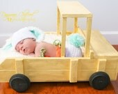 FREE SHIPPING Large Truck Newborn Photography Prop