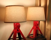 Jack stand lamp