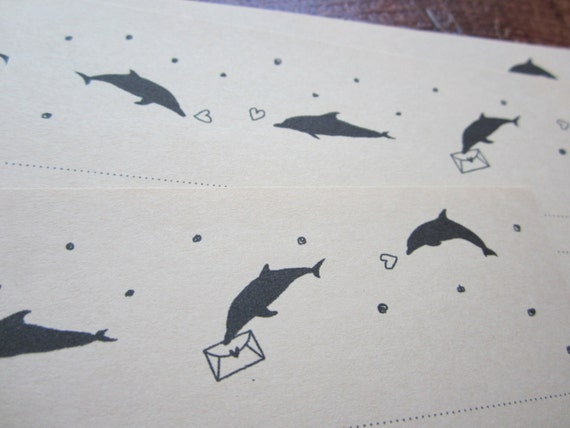 letter-paper / Dolphin Mail
