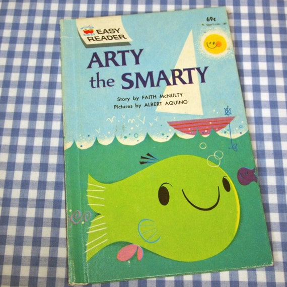 Arty The Smarty Vintage 1962 Children's Book