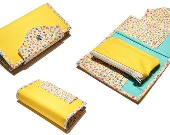 Hand Clutch Wallet - PDF Sewing Pattern & Tutorial