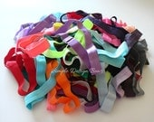 Elastic Headbands - Baby Headbands - Set of 10 - Newborn Headbands - Infant to Adult - DESTASH Grab Bag - ASSORTED COLORS - 1.00 Headbands