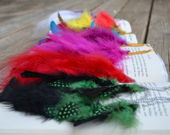Create Your Own 3 Tier Feather Earrings