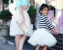 Estelle Women's Tulle Skirt PDF Pattern.  All sizes 2 -12