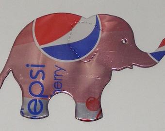 Elephant Magnet - Pink Diet Wild Cherry Pepsi Cola Soda Can