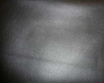"Leather 20""x20"" Black BIKER Top grain Cowhide 3.5 oz / 1.4mm  PeggySueAlso™ E2879-03"