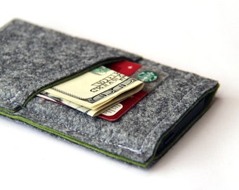 iPhone 6S / iPhone 7 Cover, iPhone 6S Wallet, Felt sleeve for iPhone 7, iPhone 7 plus felt case, iPhone SE Cover