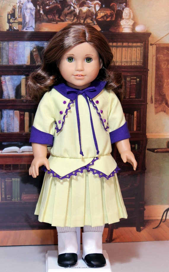 1914 Frock For Rebecca Or Any American Girl Doll