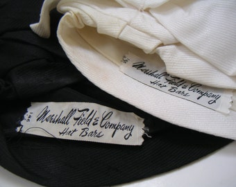 Vintage Marshall Field & Company Hat Bars. Retro,Mad Man. Beehive Hats. FREE SHIPPING