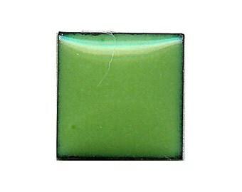 1335 Pea (Green) Opaque Lead-free Powdered Glass Enamel 1oz.