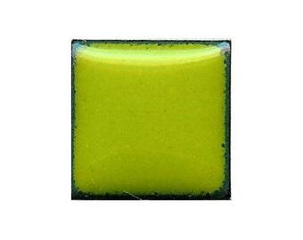 1319 Bitter (Green) Opaque Lead-free Powdered Glass Enamel 1oz.