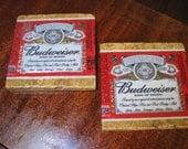 Budweiser Natural Stone Coasters