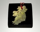 Handcrafted Connemara Marble Christmas Ornament (Ireland)
