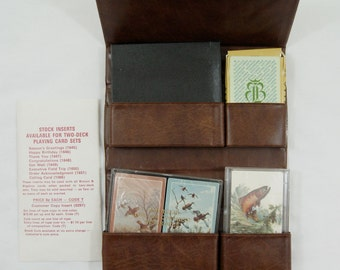 Vintage 1983 Brown and Bigelow Playing Card Salesman Sample Kit
