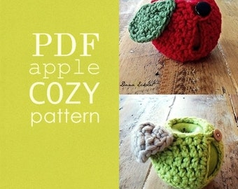 Apple Cozy PDF Pattern