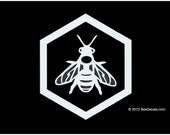 Beekeeper  Decal - Car Window Decal - Honey Bee Decal - Car Sticker - Beekeeper Bumper Sticker - We love bees