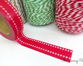 Washi Tape: Red Dots