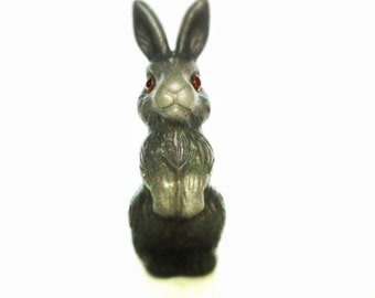 Adorable vintage bunny, his name is Vladimir. Use him for assemblage, mixed media or to keep company.