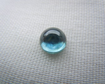 Genuine Montana Sapphire Blue Cabochon cut 6.9 mm 2.11 carats loose gemstone