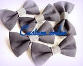 Upcycled Men Tie Bow-reserved-
