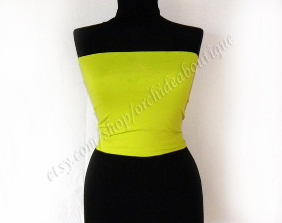 Matching tube top for the convertible dress