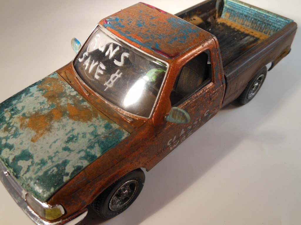 ford ranger pickup truck 1 24 scale model car copper and. Black Bedroom Furniture Sets. Home Design Ideas